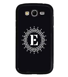 YuBingo Samsung Galaxy Grand Max G720 2D Designer Phone Back Case Cover ( Monogram with Beautifully Written letter E )