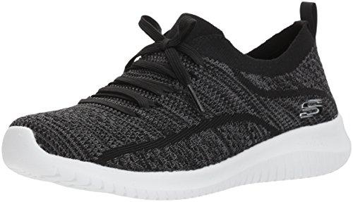 Skechers Ultra Flex-statements, Sneaker Donna Nero (Black/grey)