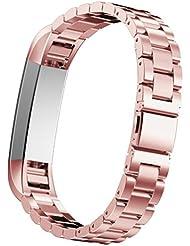 Omiky® Fashion 2017 Edelstahl Uhrenarmband Armband für Fitbit Alta HR Smart Watch