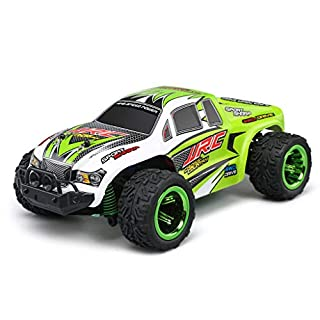 RC Car Motor Vehicle Remote App Controlled Truck RC Car 1:26 Scale with 2.4GHz Remote control off road car monster truck for Kids and Adults Green