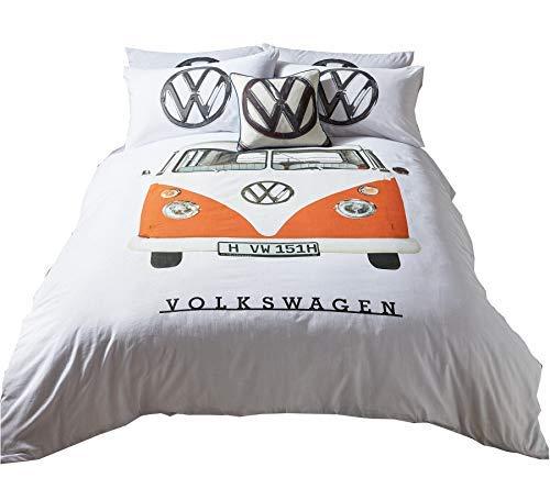 Bettwäsche Bettwäschegarnituren Bettwäsche Vw Käfer Rot Volkswagen