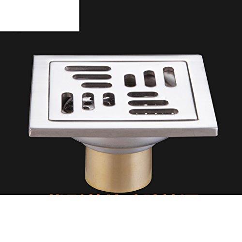 HCP Edelstahl Bodenablauf Geruch versucht zu verhindern,/Abdeckung Abwasserkanal/Bad Bodenablauf-D