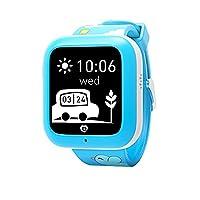 Misafes Smart Watches, Kids SOS Smartwatch Phone GPS Tracker Anti-lost Children Wrist Watch for Baby, Boys, Girls (blue)
