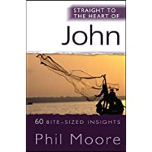 Straight to the Heart of John: 60 Bite-Sized Insights (Straight to the Heart series)