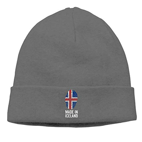 NDJHEH Hüte,Kappen Mützen Made In Iceland Men's&Women's Skull Cap Winter Warm Daily...