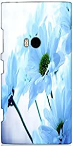 Snoogg Flowers Designer Protective Back Case Cover For Nokia Lumia 920