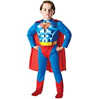 Rubies s - Disfraz infantil, diseño de Batman de DC Comics, con pecho metálico