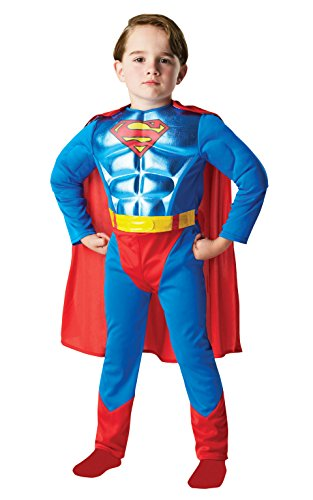 Kind 's DC Comics Metallic Brust Superman – Kleine (Kinder-superman-outfit)