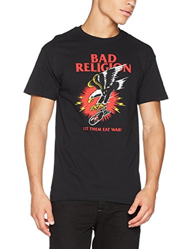 CID Herren T-Shirt Bad Religion-War Schwarz