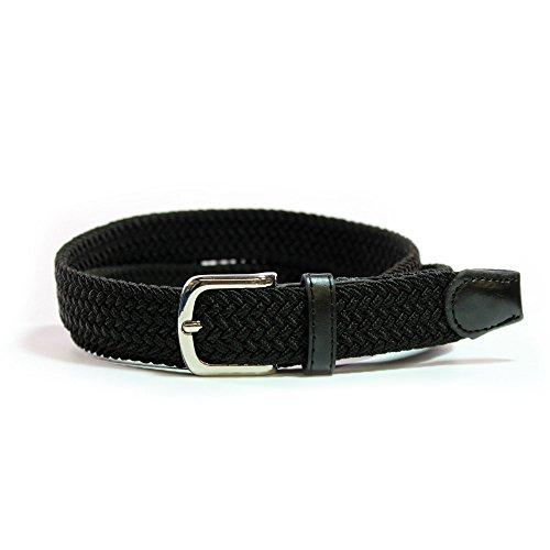 Cinturón Elástico Mujer - Cinturón Trenzado – 25 MM – Confort Unico!