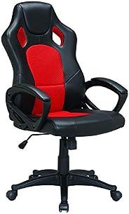PU racer chair Upl:PU+mesh Arm: PP with PU pading Mch: butterfly tilt Gas lift: 100mm black class2 Base: 320mm