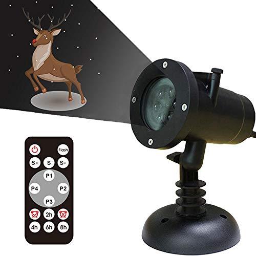 LED Projektor Licht Animation mit 4 Verschiedenen und -