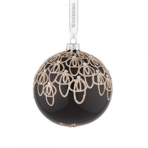 Waterford Black Tie Ball Ornament by Waterford -