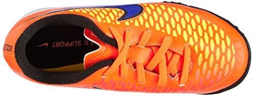 Nike Magista Onda Tf, Chaussures de Football Compétition Mixte Enfant Orange - Orange (Ttl Orng/Prsn Vlt-Lsr Orng-Hyp 858)