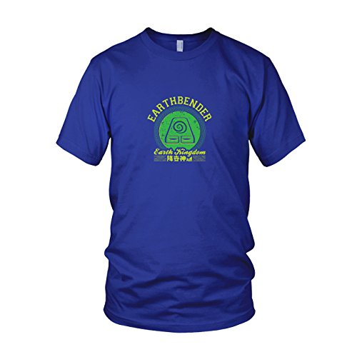 Earthbender Kostüm - Earthbender Kingdom - Herren T-Shirt, Größe:
