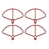 4pcs protection hélices anneau de protection de la lame cadre de protection pour Xiaomi FIMI X8SE X8SW X8SG X8SG X8 pro drone dr parties - rouge