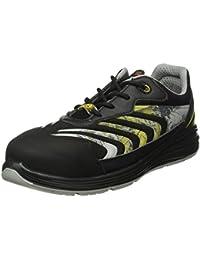 Giasco up071e39 Leo – Zapatos de seguridad bajo S1P negro/amarillo, negro-amarillo