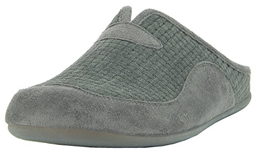 Mules Qgchcy5c Chaussons Gris Florett Homme mN80nw