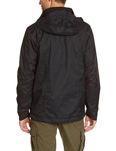 The North Face Herren Doppeljacke M Evolve Ii Triclimate Jacket - Eu, T0CG55JK3 Schwarz (Tnf Black)