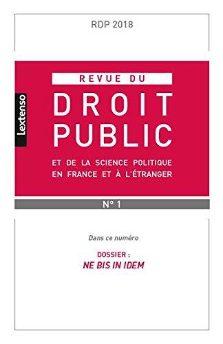 Revue du Droit Public et de la Science Politique en France et a l Étranger N 1-2