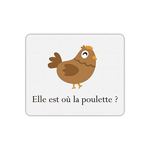 Tapis de souris kaamelott kadoc la poulette