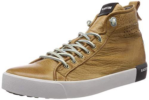 Blackstone Herren PM43 Hohe Sneaker Braun Rust, 43 EU