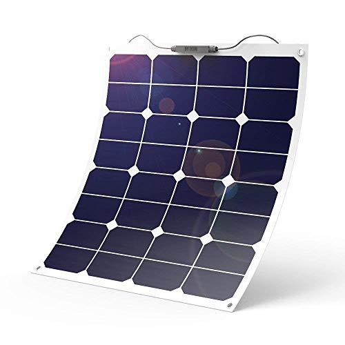 Tragbares Flexibles Sonnenkollektorladegerät Des Sonnenkollektors (50W) Photo-Voltaischer Beweglicher Energieaufladeschatz, Passend Für RV-Bootskabinenzelt-Autoanhänger