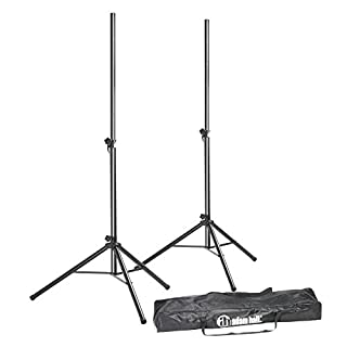 Adam Hall Speaker Stand with Bag (Set of 2)
