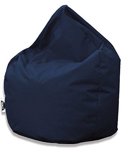 Sitzsack Tropfenform für In & Outdoor   XL 300 Liter - Marine - in 25 versch. Farben und 3 Größen