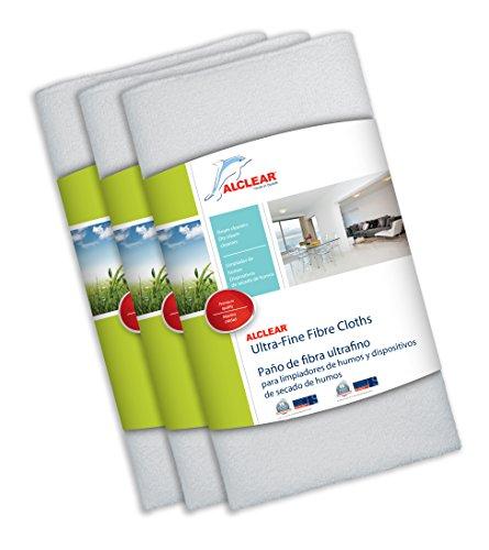 Preisvergleich Produktbild ALCLEAR 955040 Tischdecken-Fasern REX70 Für Reinigungsbürstchen von Rauch und Geräte von trocknen von fumée-50 x 40 cm-Blanc