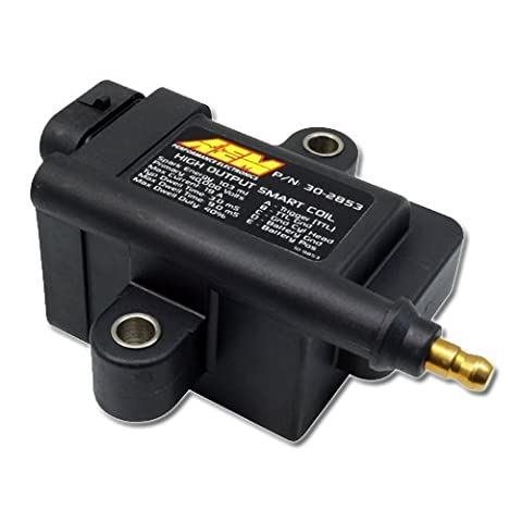 AEM 30-2853 High Output Ignition Inductive Smart Coil, Black