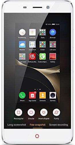 """Nubia N1 Smartphone libre 5,5"""" (3GB+64GB, cámara 13MP, 8 procesadores, Android) color Blanco Plata"""