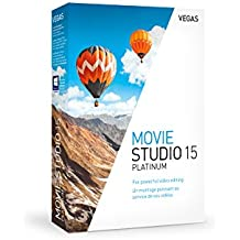 Vegas Movie Studio 15 Platinum|Standard|1 Device|1 Year|PC|Disc