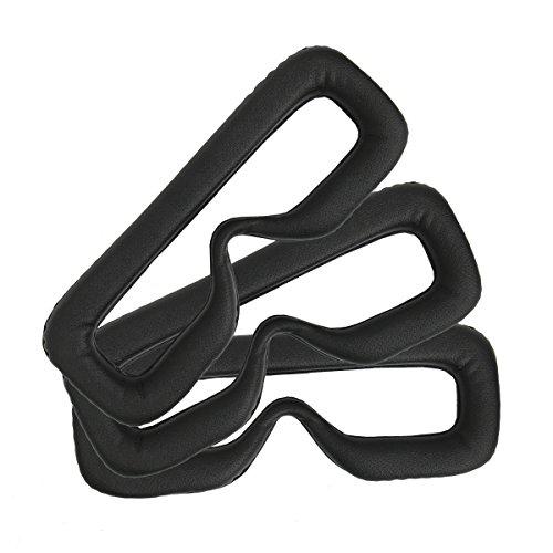 Cusfull 3 Stück Sets 16mm Hygiene Augen Gesichtsmasken mit Schaumstoffmatte für das Gear VR Headset