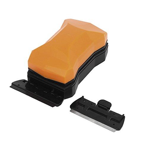 verre-aquarium-magnetique-grattoir-a-lame-nettoyant-solvant-orange-noir