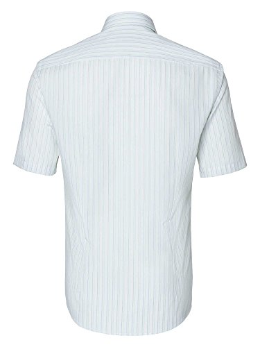 Venti Herren Businesshemd 100% Baumwolle Slim Fit Weiß
