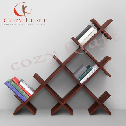 Cozy Kraft Solid wood Phoenix Book shelf