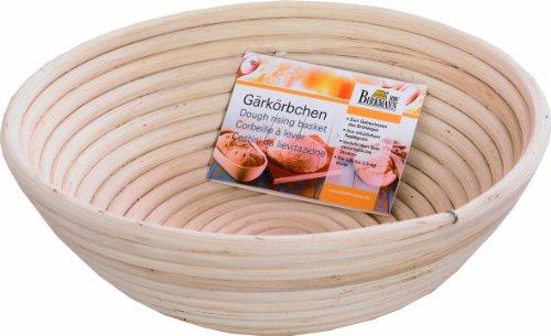 Preisvergleich Produktbild Birkmann 208971 Gärkörbchen rund, Ø 25 cm, Höhe 8.5 cm