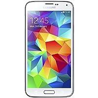 Samsung Galaxy S5 SM-G900F - Smartphone libre Android (pantalla 5.1 Pulgadas, cámara 16 MP, 16 GB, 4G, Quad-Core 2.5 GHz, 2 GB RAM), Blanco