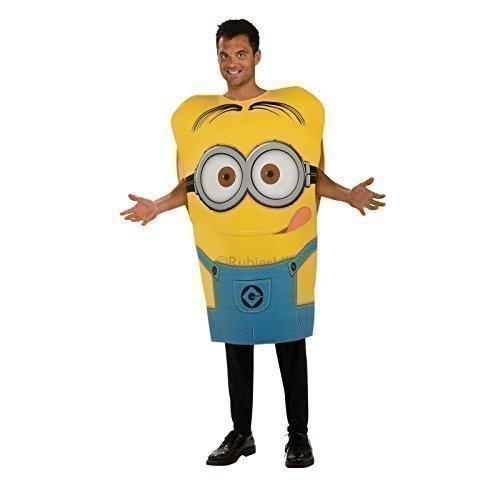Rubies Minion Dave Kostüm Erwachsene Schaum Kostüm - Gelb, Eine Größe bis DE (Erwachsene Minion Dave Kostüme)