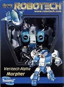 Robotech Veritech Alpha Morpher Scott Bernard (Blue) by Toynami