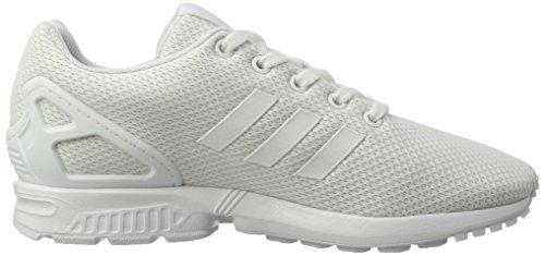 adidas Zx Flux, Sneaker a Collo Basso Unisex – Bambini Bianco (Footwear White/footwear White/footwear White)