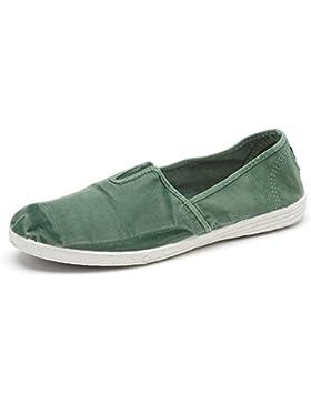 Natural World Eco – Herren Canvas Sneaker Sneakers Turnschuhe Leinenschuhe – Freizeit Sommer Schuhe mit Gummizug...
