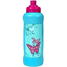 Unbekannt Scoolie Butterfly Trousse d'écolier Double Compartiment garnie avec stylos Stabilo
