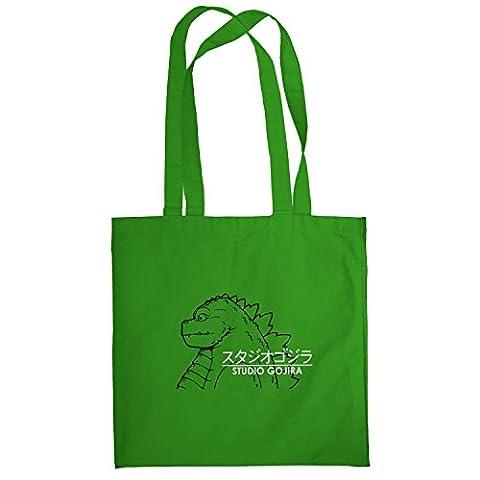TEXLAB - Studio Gojira - Stoffbeutel, grün