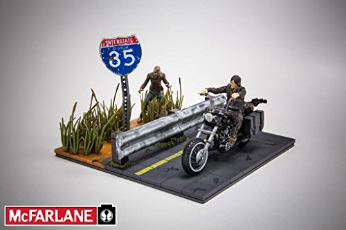 McFarlane Toys Building Sets -The Walking Dead TV Daryl Dixon with Chopper Building Set by McFarlane Toys (Chopper Und Dixon Daryl)