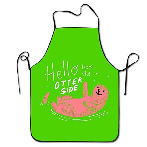 R2d2 Kostüm Hunde - HTETRERW Hello From The Otter Side Women's Men's Funny Creative Print Cooking Aprons