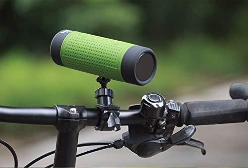 GXY-Kartenlautsprecher Bluetooth-Fahrradradio-Kartenlautsprecher-Subwoofer für den Außenbereich, grün