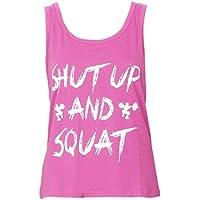 Fitness Yoga Vest,Mamum Women Workout Tank Top T-shirt - Gym Clothes Fitness Yoga Lift (XL, Pink)