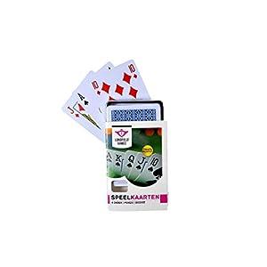 Longfield Games 390114 - Juego de Cartas (54 Pieza(s), 1 Cubierta(s), De plástico, Niño/niña, Children/Adults)